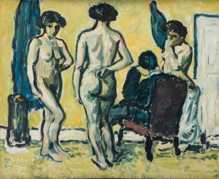 Harald Giersing - The Judgement of Paris (1909)