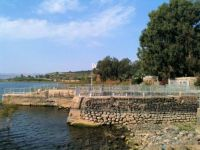 Sea of Galilee at Capernaum