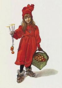 "Carl Larsson, ""Brita as Iduna"""