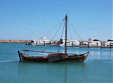 VOC Batavia longboat replica