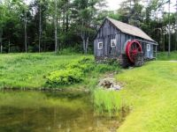 Old and lovely grist mill . . .
