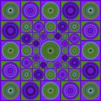 Let's play with purple and green today! #4 (Extra Large)