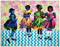 Four Little Girls, September 15,1963 ~ Bisa Butler