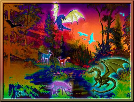 WEEKLY THEME: Mythical, Magical, Mysterious Creatures... Mystical Fantasy ...