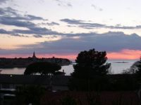 sunset in Poreč