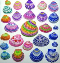 Painted Seashells