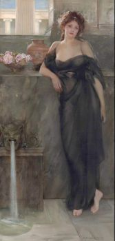 "Arthur Dampier May, ""Contemplation"", 1910"