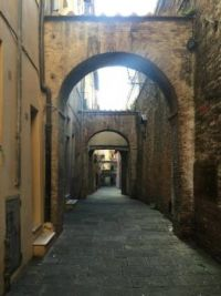 Down the Italian alley