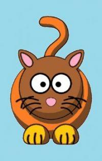 CA 0244 - Cartoon cat