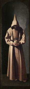 Francisco de Zurbarán (Spanish, 1598–1664), St. Francis Contemplating a Skull (ca 1635)