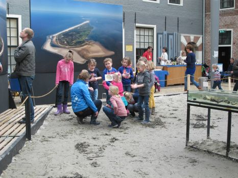 For children: an indoor excursion concerning the dutch wetlands