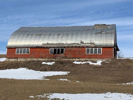 Sad Old Barn