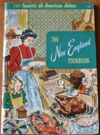 Themes Vintage illustrations/pictures - The New England Cookbook