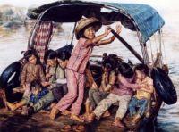 Girls in Sampan - Wai Ming