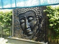 New buddah water feature.