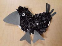 Tissue Paper Raven