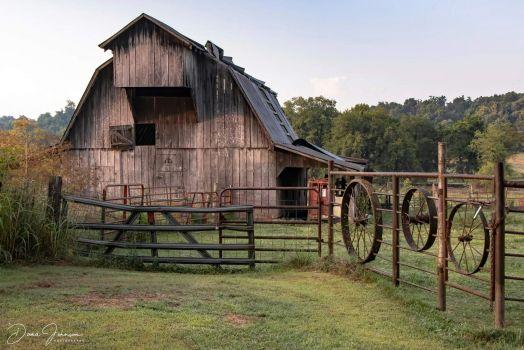 Wheels and Barn