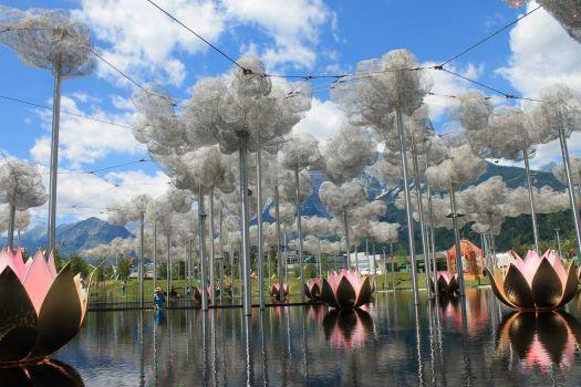 Swarovski Crystal World in Wattens, Austria