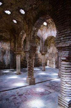 Moor's baths in Ronda, Spain