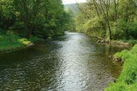 1.5.2009 Řeka Jihlava pod Hadcovou stepí