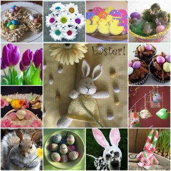 Easter Mosaic by Jan May - Cajame on flickr