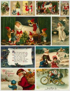 Vintage Christmas Cards #3