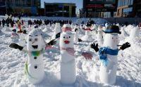 Snowmen in Ottawa