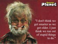 geezer planet wisdom