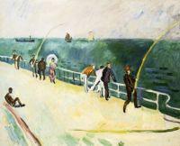"""Raoul Dufy, """"Men Fishing"""", 1907"""
