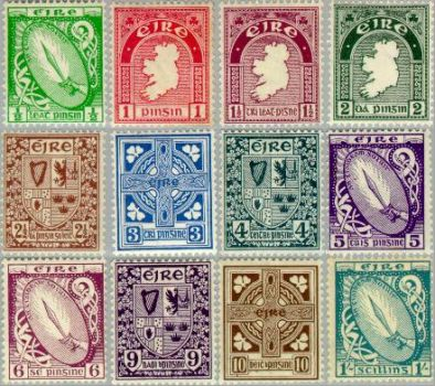 Irish Postage Stamps