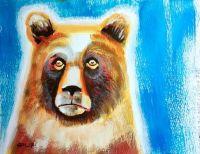 Worried bear