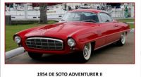54 DE SOTO ADVENTURER II - CONCEPT CAR
