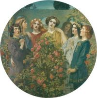Hymn to the Rose by John Duncan
