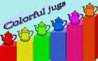 colorful jugs