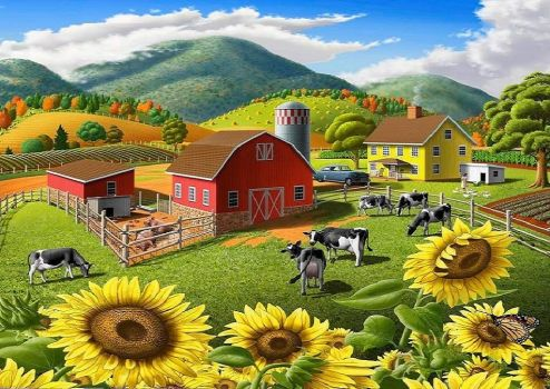 Appalachian Farm Landscape
