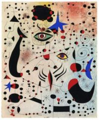 Joan Miró—Ciphers & Constellations in Love with a Woman, 1941