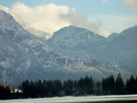 Neuschwanstein in the winter