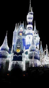 "Cinderella's ""Frozen"" Castle"
