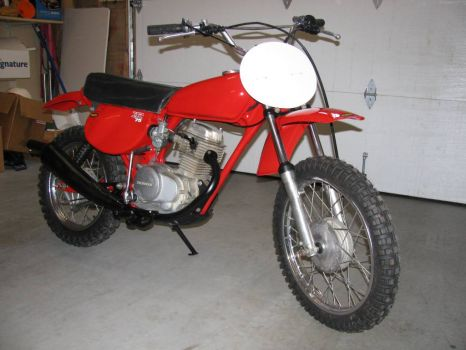 My old XR 75 restored