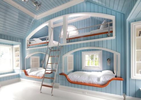 Bunk bedroom - wow