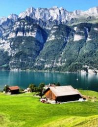 Living In Walensee, Switzerland