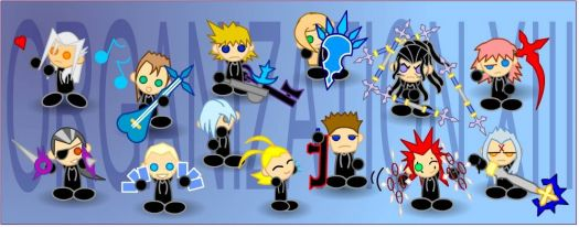 Kingdom Hearts 2: Organization 13
