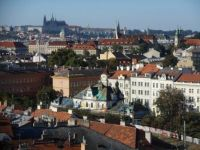 Praha z  Vyšehradu