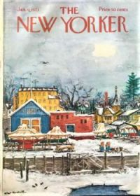 The New Yorker - January 6, 1973 / Cover art by Albert Hubbell