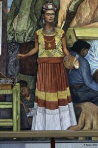 Frida Kahlo by Diego Rivera