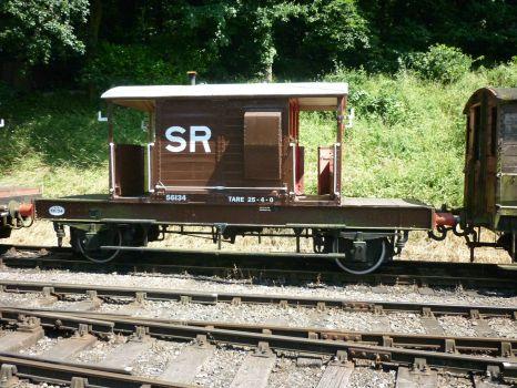 Southern Railway 25 ton Brakevan at Shackerstone.