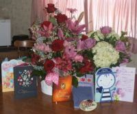 Birthday flowers, cards & gifts
