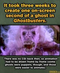 15 Movie Visual Effects That Were Insanely Hard To Pull Off - Ghostbusters