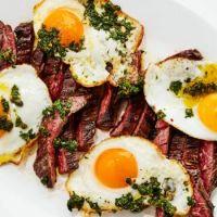 Steak & Eggs w/ Salsa Verde