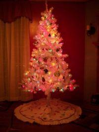 frog christmas tree